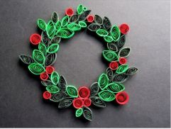 Image result for paper quilling holiday
