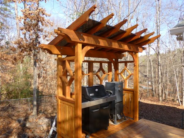 17 Best images about Outdoor small grill patio on ... on Patio Grilling Area id=34354