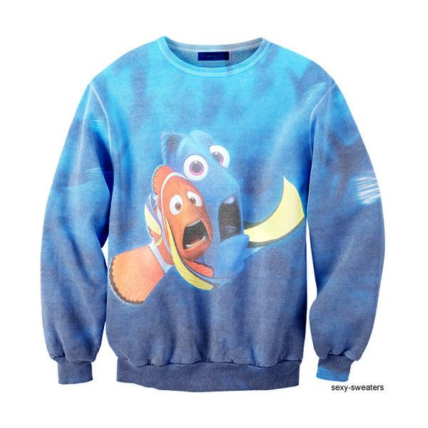 Finding Nemo Sweater. Not my style, but thought of @Katie Schmeltzer McCraw