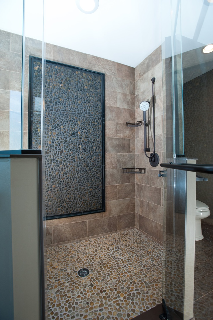 16 Best Images About Showers On Pinterest Walk In Shower Designs Pebble Floor And Luxurious