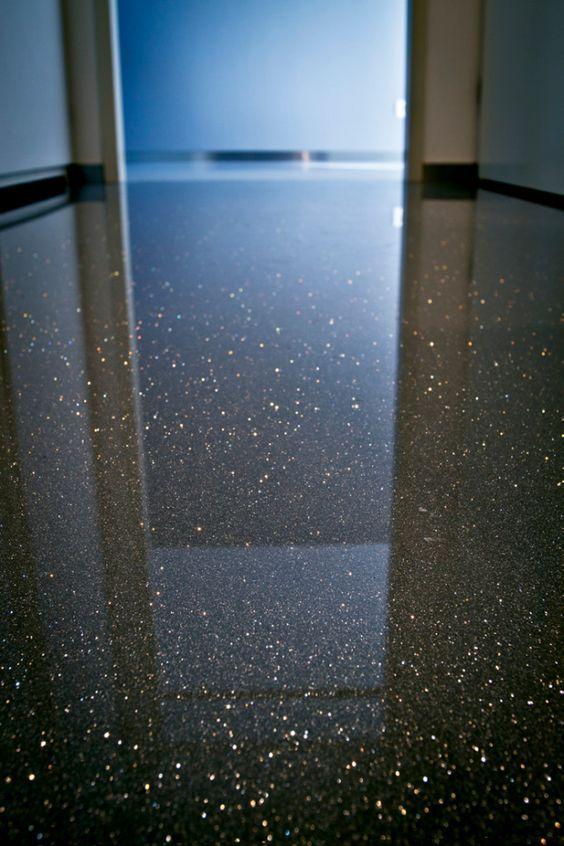 Gietvloer Met Glitters DIY Pinterest Floors Met And Wet Floor