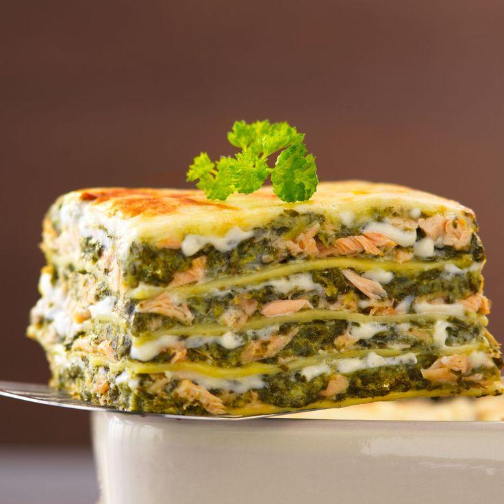 Lasagnes Au Saumon Et Loseille Recipe Lasagne And Tops