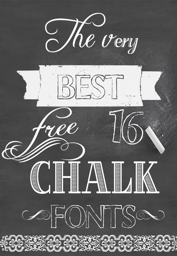 We Lived Happily Ever After How To Create Chalkboard