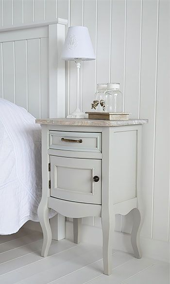 Bridgeport Grey Lamp Table With Cupboard Living Hall And Bedroom Furniture The New England