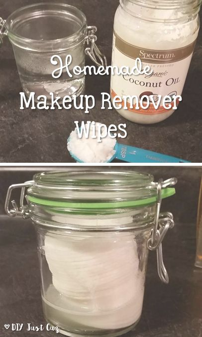Homemade makeup remover wipes save you a lot of money and are also made with great products like coconut oil and baby shampoo.