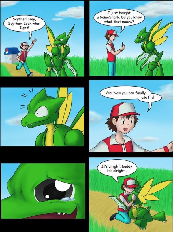 Scyther can finally use Fly | Video Games | Pinterest ...