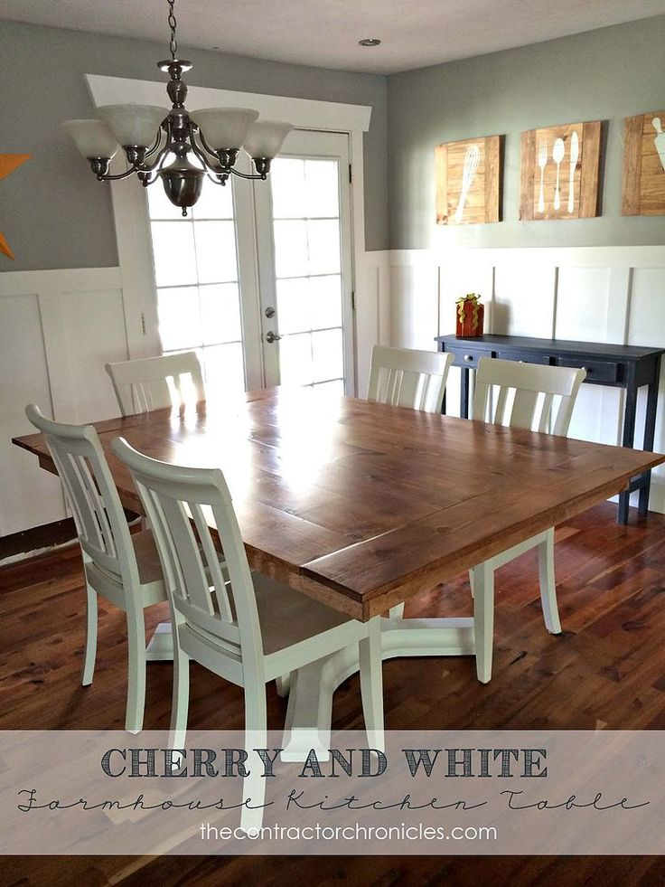 17 Best Ideas About White Farmhouse Table On Pinterest Farmhouse Dining Chairs Farmhouse