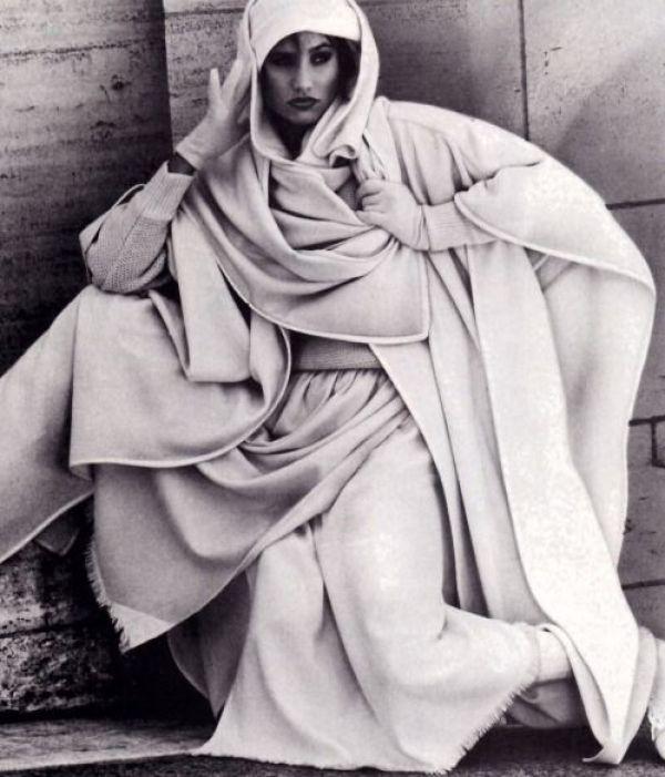 knitGrandeur: #TBT, 80s Draped Hoods