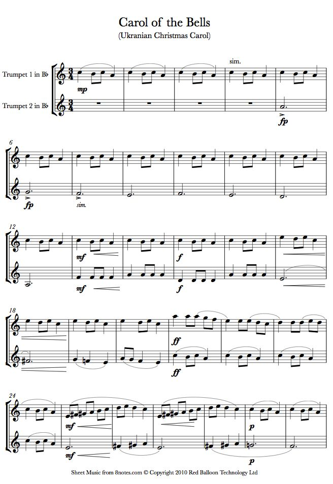 Alto Sax Sheet Music My Chemical Romance