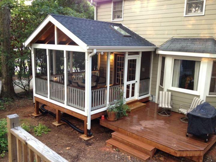 Diy Screen Porch | Joy Studio Design Gallery - Best Design on Enclosed Back Deck Ideas id=30035