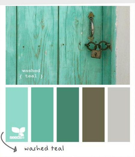 washed teal color scheme color inspiration on show me beautiful wall color id=45825