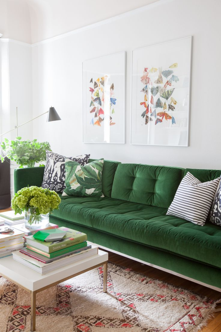 25 Best Ideas About Green Couch Decor On Pinterest