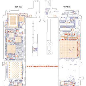 AppleUnlockStore :: SERVICE MANUALS :: iPhone 6S Plus Circuit Diagram Service Manual Schematic