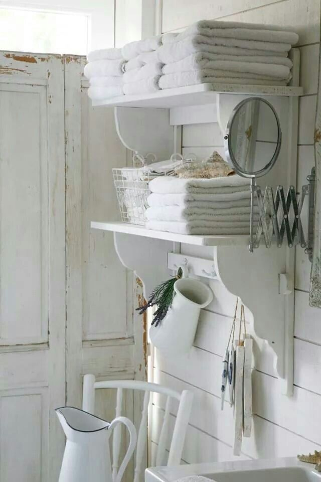 616 Best Shabby Chic Bathrooms Images On Pinterest