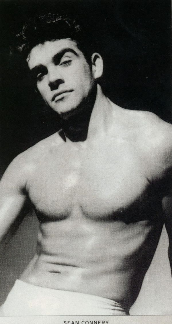 young Sean Connery before competing in Mr Universe   Peeps ...