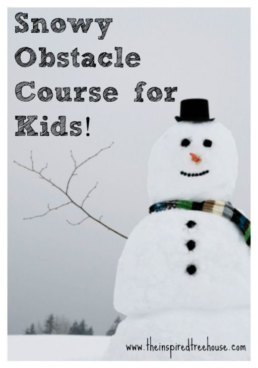Challenge a variety of motor skills all at once than a good old fashioned obstacle course that is done outside!!: