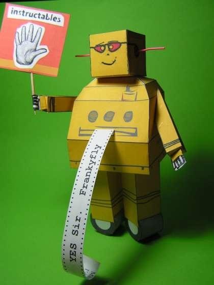 Toddlers Craft Robot