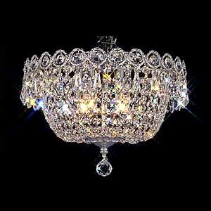 This Is From Costco Can You Believe It Pecaso Ashonte Chrome Flush Mount Chandelier Dining