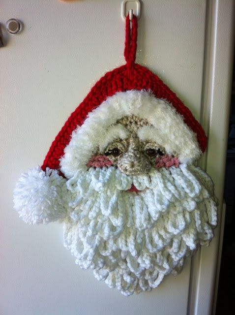 Gorgeous Detailed Crochet Santa Httpsussleorgc