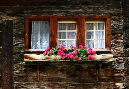 Rustic Window Planter Box Beautiful Spaces Places And