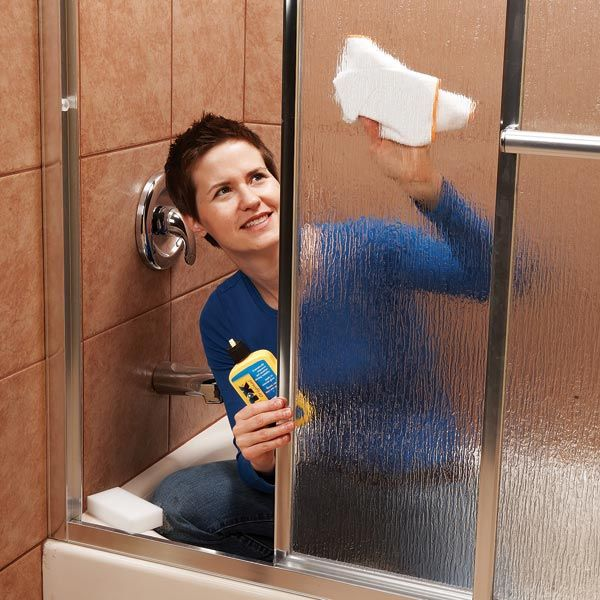 RainX on your glass showers?! (I use it on the outside of my windows too.) This is going to save a lot of time. Top 10 Household