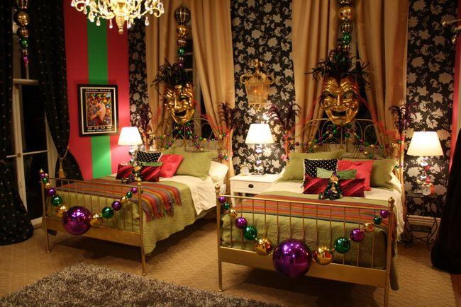 Image Detail For Mardi Gras Themed BedroomNoelle Grimes