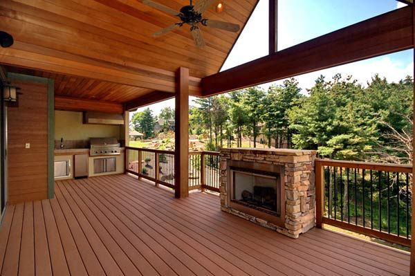 1000+ images about Outdoor Living on Pinterest   Outdoor ... on Outdoor Gas Fireplace For Deck id=45798