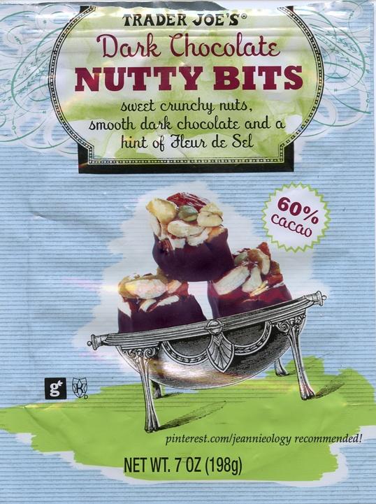 love Trader Joe's! These dark chocolate nutty bits (which ...