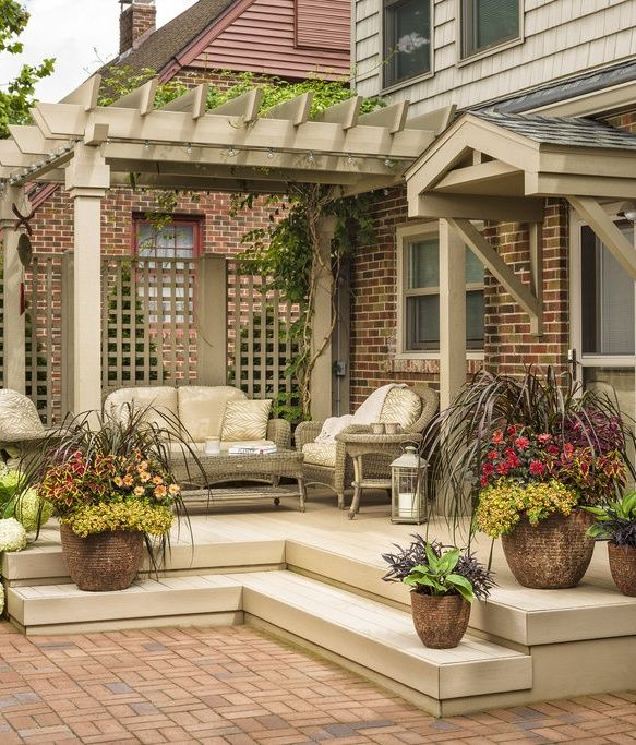 772 best Pictures of decks images on Pinterest on Backyard Retreat Ideas id=63138