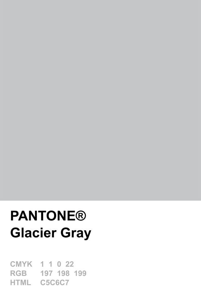 Pantone 2015 Glacier Gray Pantone Pinterest Grey