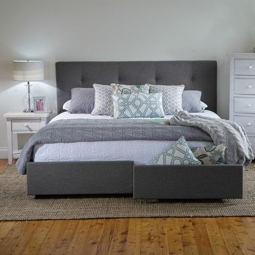 Georgia King Bed Frame With Storage Drawers Products 1825 Interiors Room Decor Pinterest