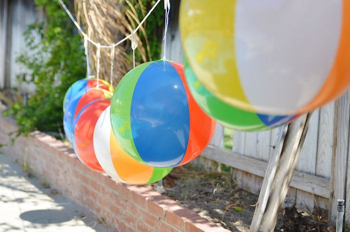 25 Best Images About Beach Ball Cake On Pinterest!