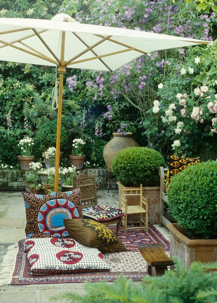 17 Best images about Ideas for a Moroccan courtyard on ... on Moroccan Backyard Design  id=40542