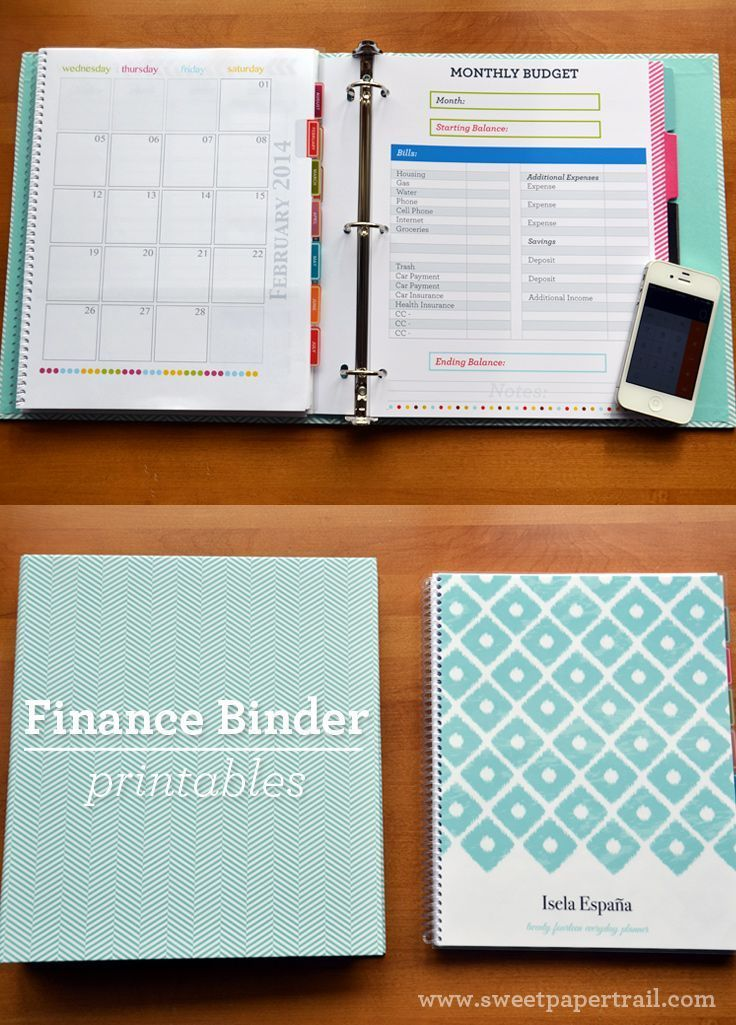 17 Best Images About Financial Organizing Forms On