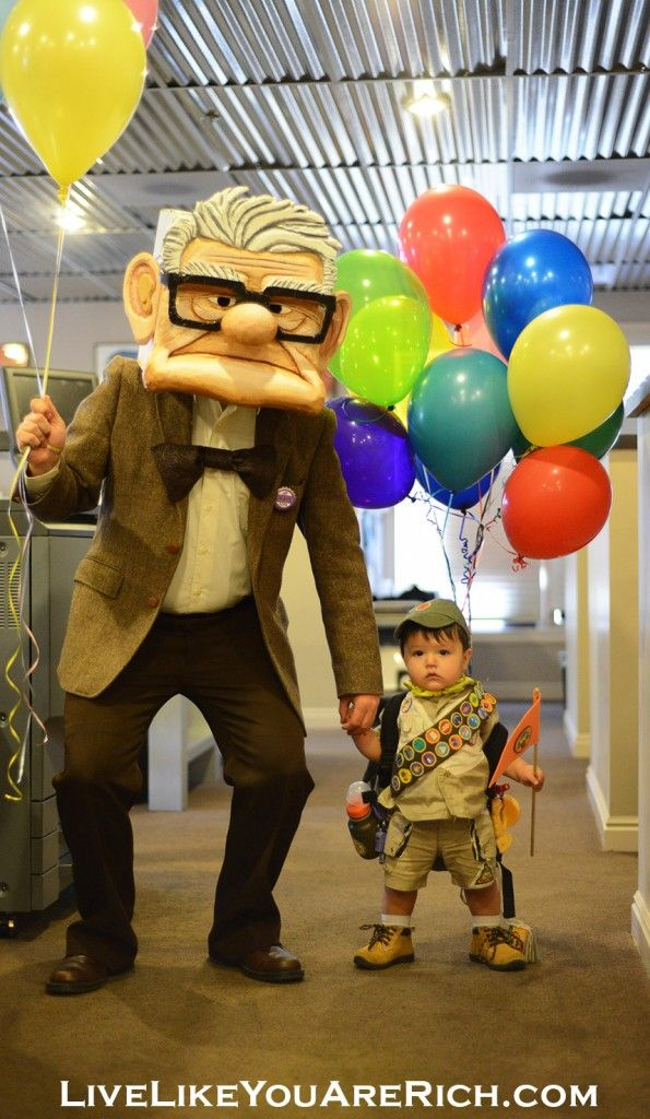 How To Make a Mr. Fredricksen Costume from the Movie 'UP ...