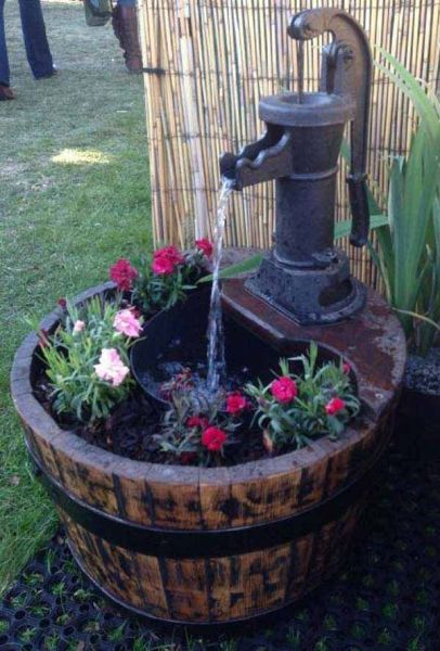 diy garden fountain ideas 25+ best ideas about Diy Fountain on Pinterest | Diy