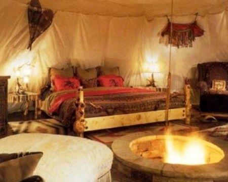 Inside Of A Tipi Beautiful Camping Gods Hotel