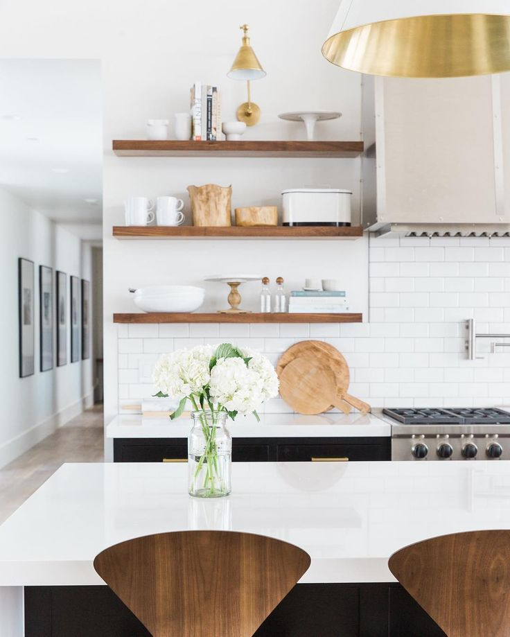 kitchen styling studio mcgee floating shelves on floating shelves kitchen id=54926