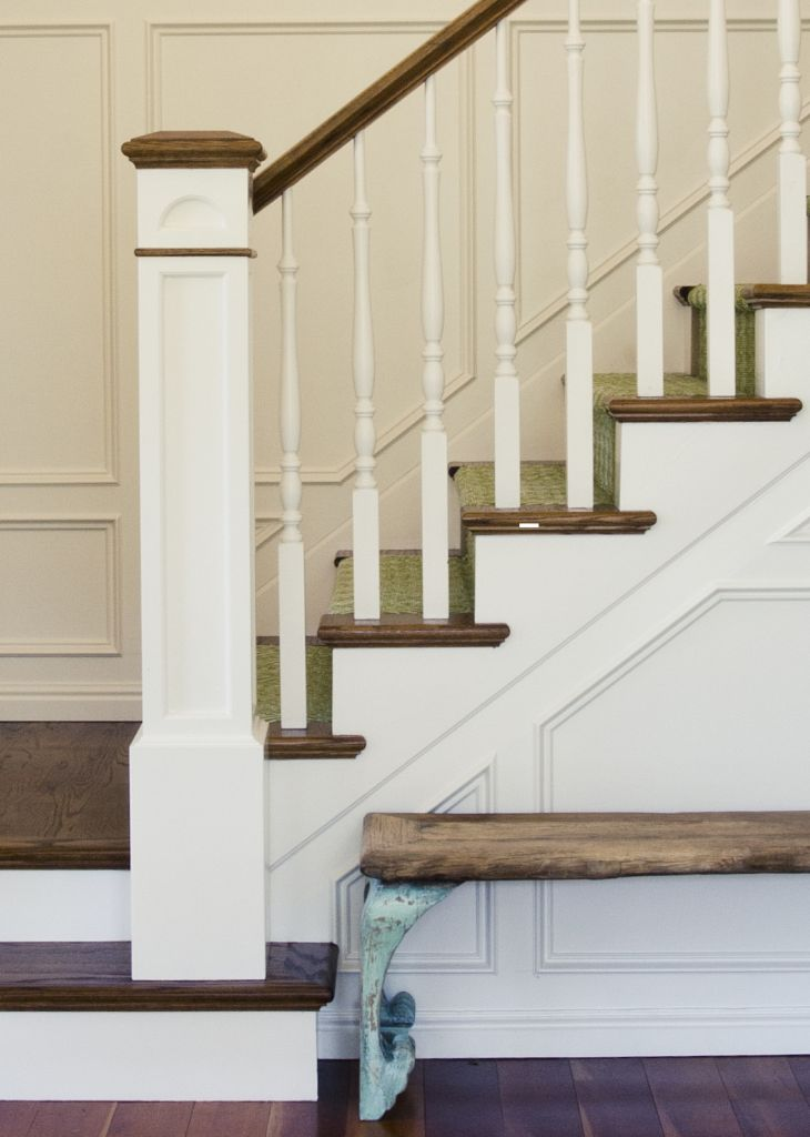 17 Best Images About Wainscoting Stairs On Pinterest Benjamin Moore Too Skinny And Stairs