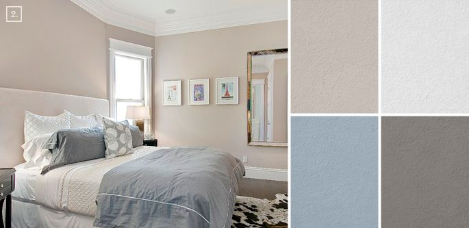 bedroom color ideas paint schemes and palette mood board on wall color ideas id=52923