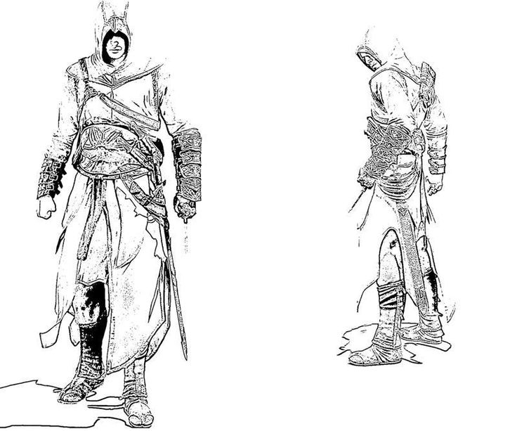 146 best images about coloriage assassin's creed on