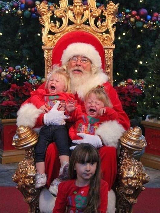 Community Post 40 Images Of Santa And Crying Kids Posts