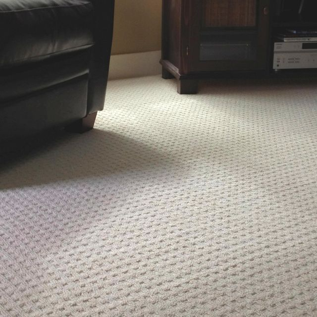 Waffle Pattern Carpet Installed Good Patterned Carpet For