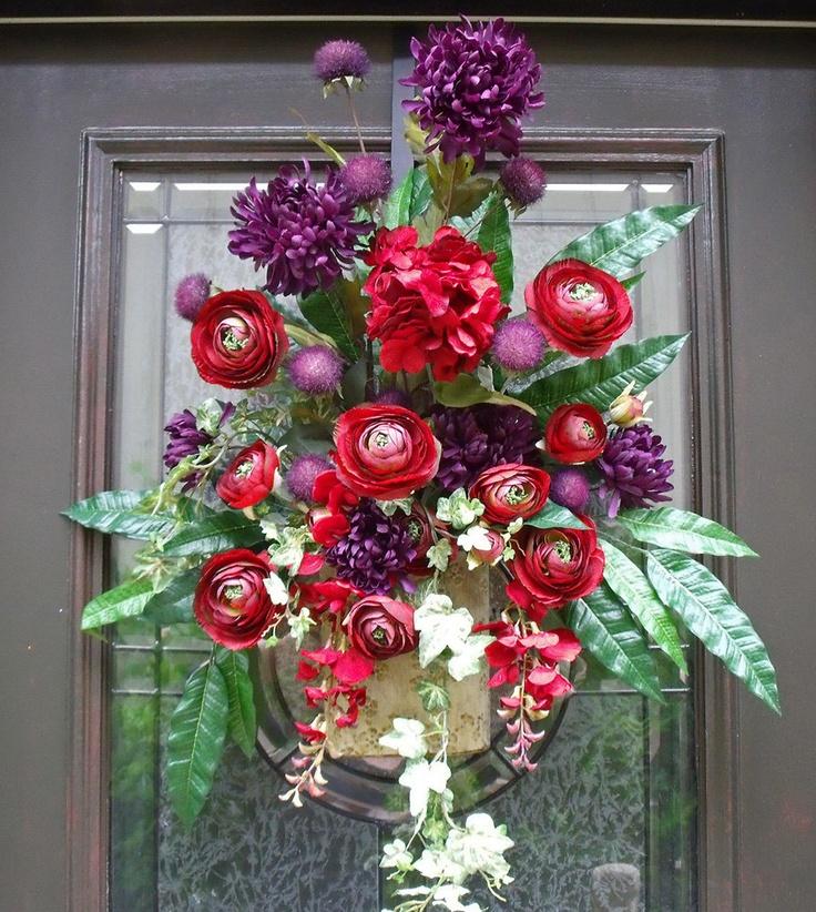 1000+ images about Wall flower arrangements on Pinterest ... on Decorative Wall Sconces For Flowers Arrangements id=33574
