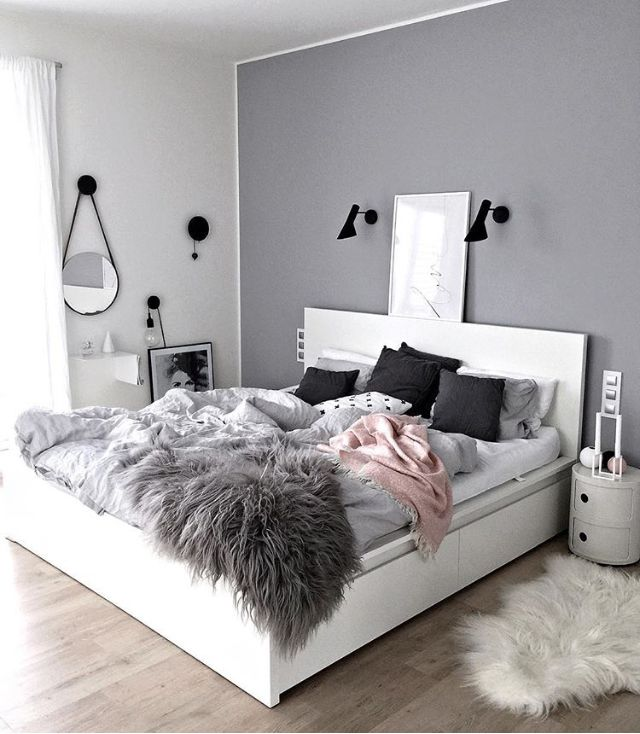 Is To Me A Beautiful Grey And Pink Bedroom Kajastef