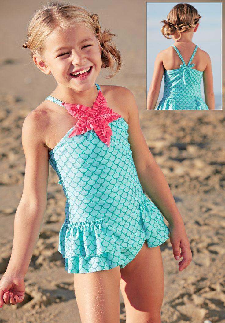 From CWDkids Starfish Swim Suit Retro CWDkids