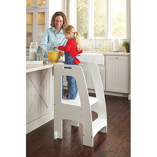 Step Up Kitchen Helper In White Kitchen Helper And