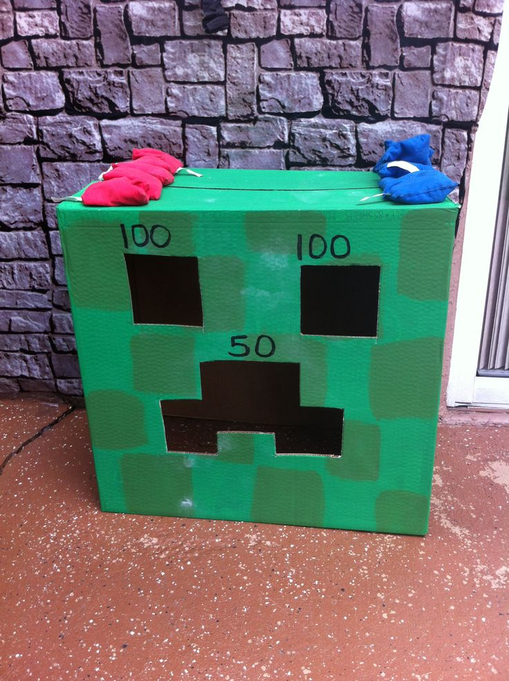 Creepers Minecraft And Tossed On Pinterest