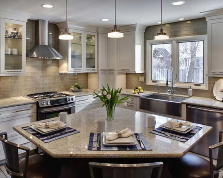 small l shaped kitchens with islands google search little fixer upper pinterest stove on kitchen ideas with island id=74805
