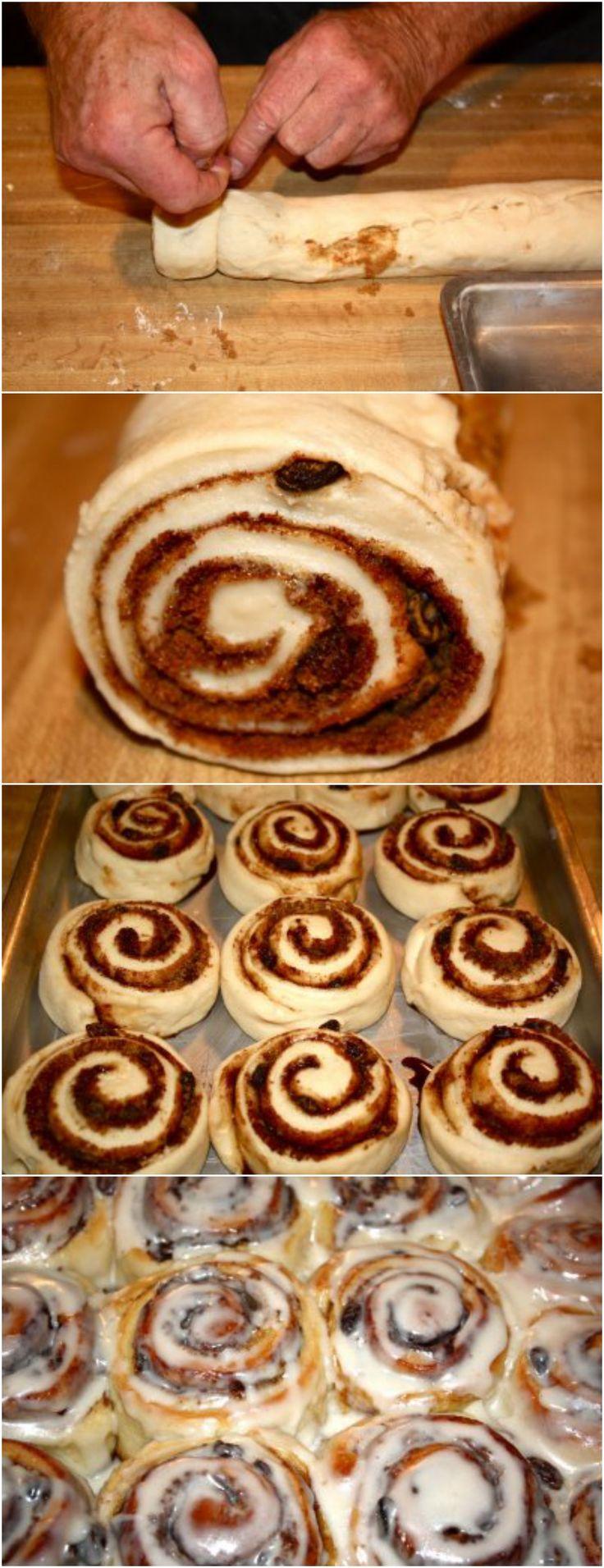 """Cinnamon Roll Recipe: """"Thes"""